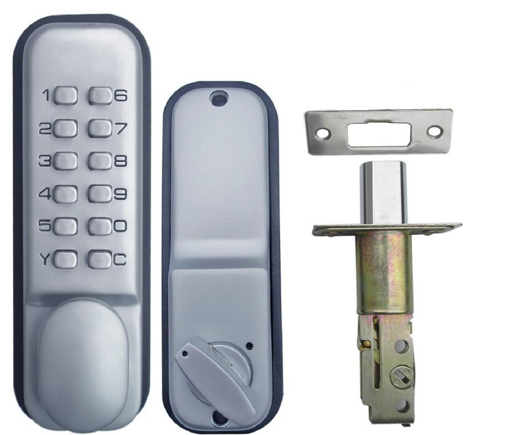 All-Weather Mechanical Keyless Deadbolt Door Lock - Satin Nickel, OS388A(China (Mainland))