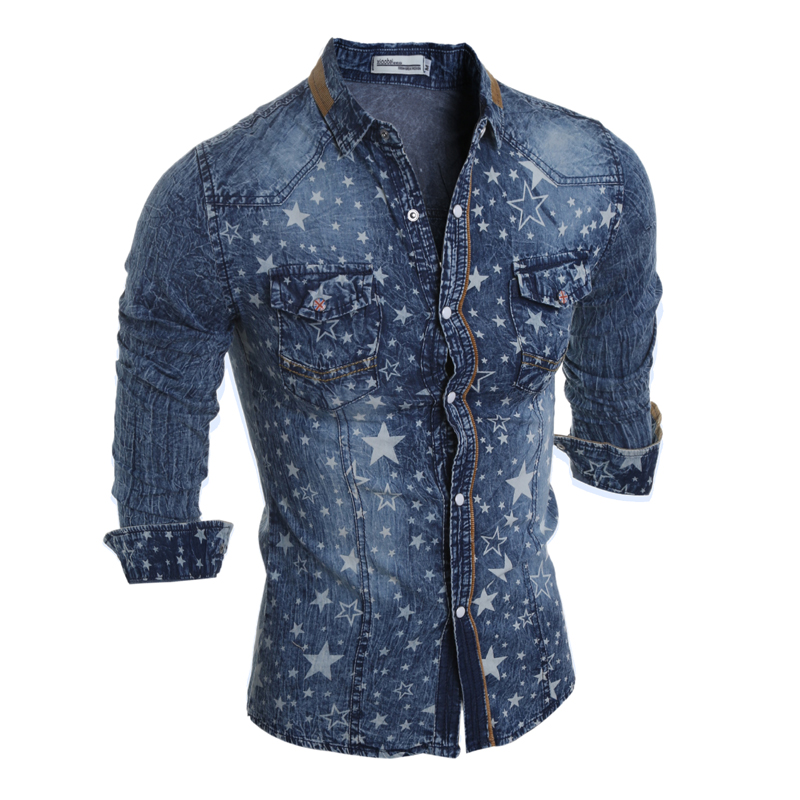 2016 hot sale new style men autumn and winter men shirt for Mens jeans and dress shirt