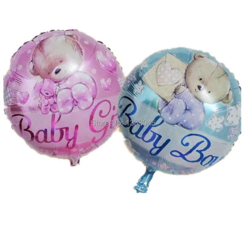 foil balloons baby girl birthday party supplies baby shower balloons