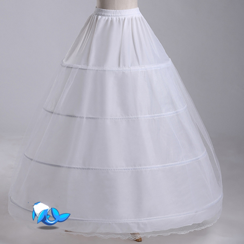 Petticoat for wedding dress tulle women underskirt jupon for Tulle petticoat for wedding dress