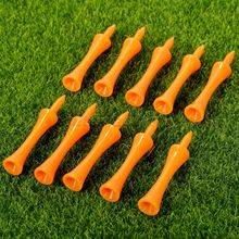 100Pcs /Pack 2 3/4 inch 70mm Plastic Plastic Tip Golf Tees Soft Cushion Top Tipped Tees Golf Training Aids Golf Accessories NEW(China (Mainland))
