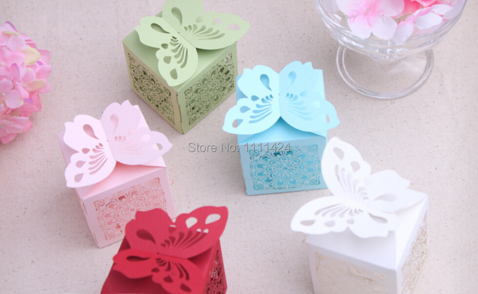 100PCS CANDY GIFT BOXED WEDDING PARTY CELEBRATION DECORATION WEDDING INVITATIONS PAPER BOX(China (Mainland))