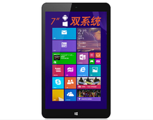 "7"" Vido W7 Dual-boot tablet intel atom Z3735G quad-core 2G+32G 1280*800 IPS 0.3MP+2.0MP Dual Camera WiFi HDMI win 10+Android4.4(China (Mainland))"
