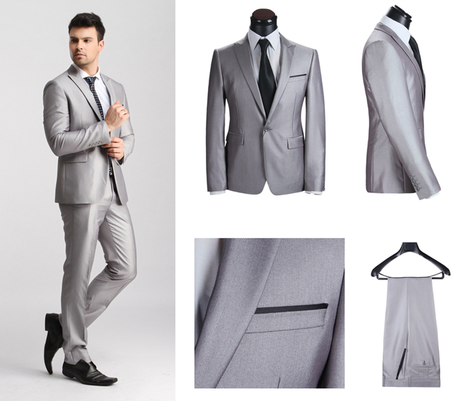 New Arrival Style 2015 New Designer Brand Suits For Men