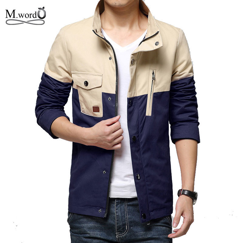 2015 New brand mens big size 5xl jacket spring men Casual ...