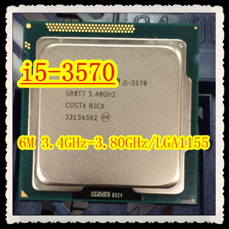 Core i5-3570 Original Desktop CPU 6M 3.4 GHz 3.8 GHz LGA1155 Desktop Original I5 3570 disassemble Processor