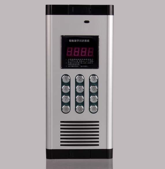 Press Direct dialing non-visual building intercom system 19-apartments audio door phone ,ID card unlock(China (Mainland))
