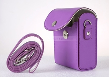 Buy Camera Video Bag PU Case Cover Pouch Strap Canon Nikon Sony Fujifilm Casio Olympus for $4.21 in AliExpress store