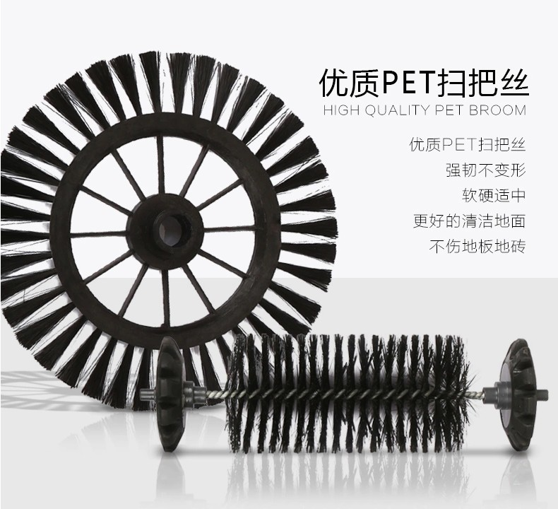 Broom for Sweeping Broom Robot Vacuum Cleaner 360 Degree Rotating Hand-Push Dual Brush Cordless Swivel Sweeper Rubber Broom(China (Mainland))