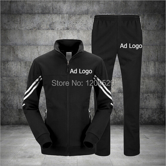 Brand Top Quality Men L-4XL Long Sleeve Sports Suit Man Sportswear Casual Hoodies and Pants Male Tracksuits Outwear(China (Mainland))