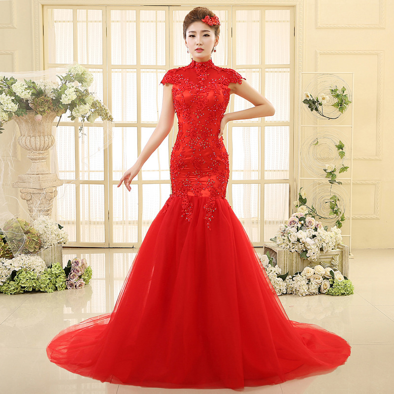 Online Get Cheap Bridal Frock Red -Aliexpress.com | Alibaba Group