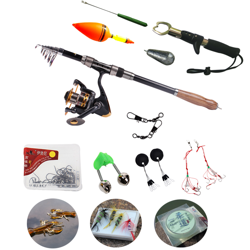 Sougayilang fishing tackle 12 accessories for fishing for Fishing rod accessories