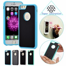 KULE Anti-gravity Case for iphone 5 5s SE 6 6s 7 7s plus Magical Anti gravity Nano Suction Cover Antigravity Phone Cases blue(China (Mainland))