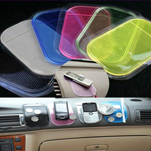 1 pc Magic Car Sticky Anti-Slip Mat For GPS Key Mobile Phone Skidproof Mat Clear Automobiles Interior Accessories