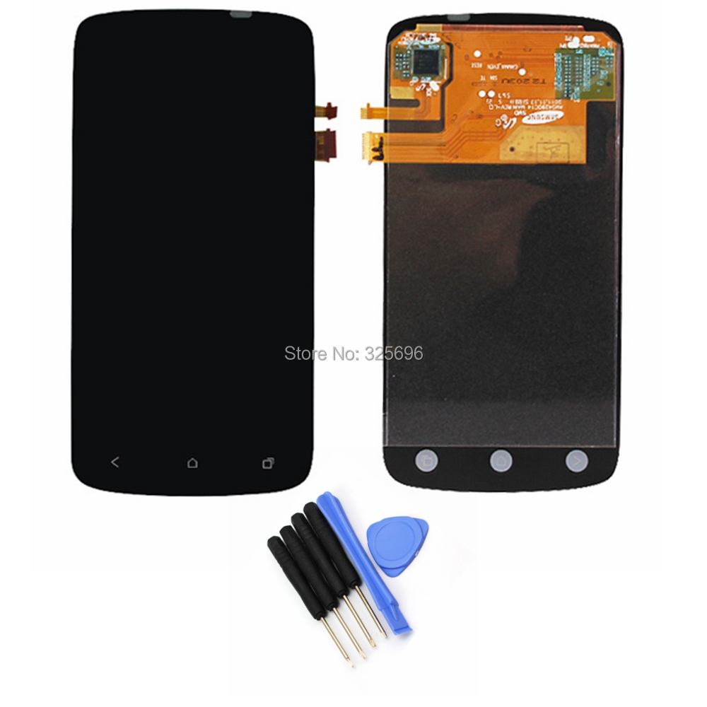 LCD For HTC ONE S Z520e LCD Display Touch Screen with Digitizer Assembly + Free Tools Free Shipping !!!(China (Mainland))