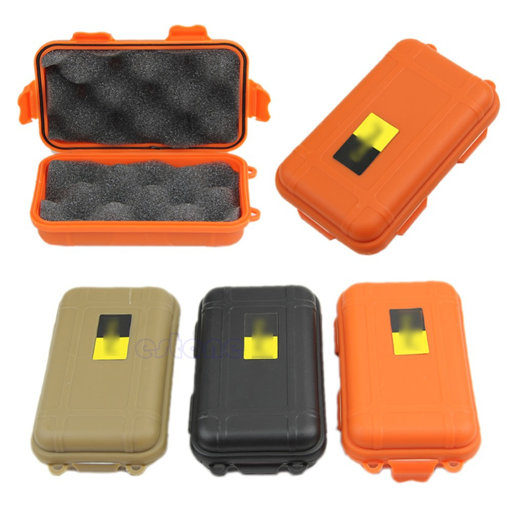 1PC Outdoor Shockproof Waterproof Airtight Survival Case Container Storage Carry Box(China (Mainland))