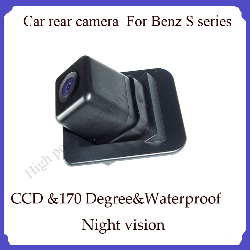 car parking backup camera for benz S series car camera newest best waterproof high quality Car Rear View Reverse Camera(China (Mainland))