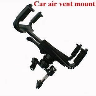 "Car air vent mount for iPad ,Car air vent holder for samsung galaxy tab, Universal car air vent mount for 7-10.1"" tablet"