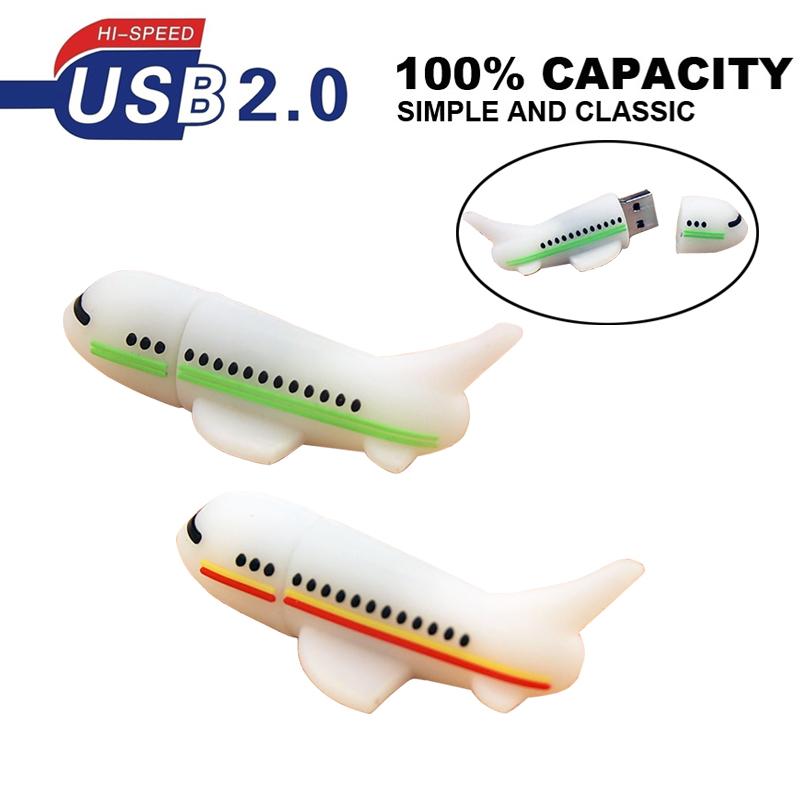 Aircraft pen drive pendrive 8gb 16gb 32gb 64g 512g airplane plane usb flash drive pen driver hard disk gadget flash memeory card(China (Mainland))