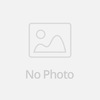 1 pair/lot, Zircon Gold OL crystal hollow out cube stud earrings anti-allergy earring fashion jewelry for women and girls(China (Mainland))