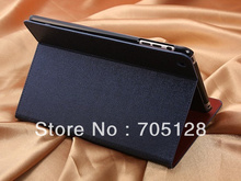 Retro Oracle Lines Stand Wallet Leather Case for iPad Mini II 2(Hong Kong)