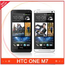 M7 Unlocked Original HTC One M7 801e 32GB Android 4G smartphone Quad core touchscreen silver/black(China (Mainland))