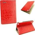 Ultra Luxury PU Leather Smart Skin Cover Cover Stand Crocodile Pattern For iPad mini 7 9