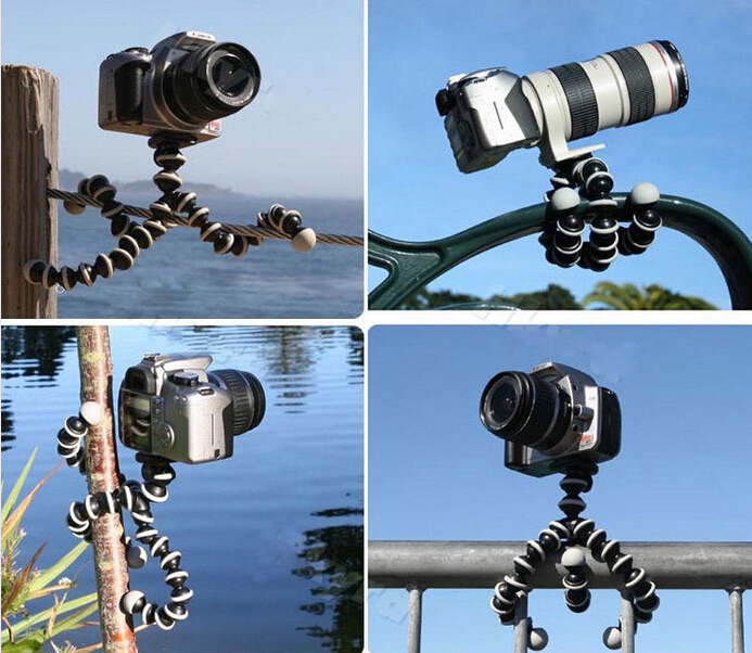 BIG Size Large Flexible Octopus Bubble Tripod/Holder/Stand Flexible Tripod Bearing 3.5kg for DSLR Camera for C anon N ikon S ony(China (Mainland))