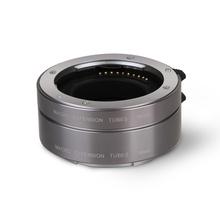 Aputure AC-MS Auto Focus AF Macro Extension Tube Set For Sony E-mount Lens NEX7 NEX6 NEX5 NEX5R NEX5T NEXC3 NEX3N A6000