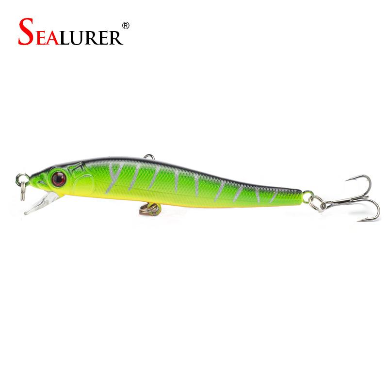 Lot 5pcs Colors <font><b>Fishing</b></font> Lures Crankbait Minnow Hooks Crank Baits Free Shipping <font><b>Fishing</b></font> lure hook bionic bait lure 8cm6.1g