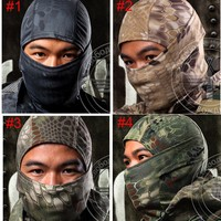 Tactical Airsoft Hunting Wargame Breathing Dustproof Face Balaclava Mask Motorcycle Skiing Cycling MASK