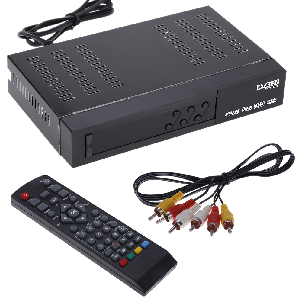 DVB-S2 1080P Full HD High Definition Digital Video Broadcasting Satellite TV Receiver Compatible with H.264 MPEG-2/4 Set Top Box(China (Mainland))