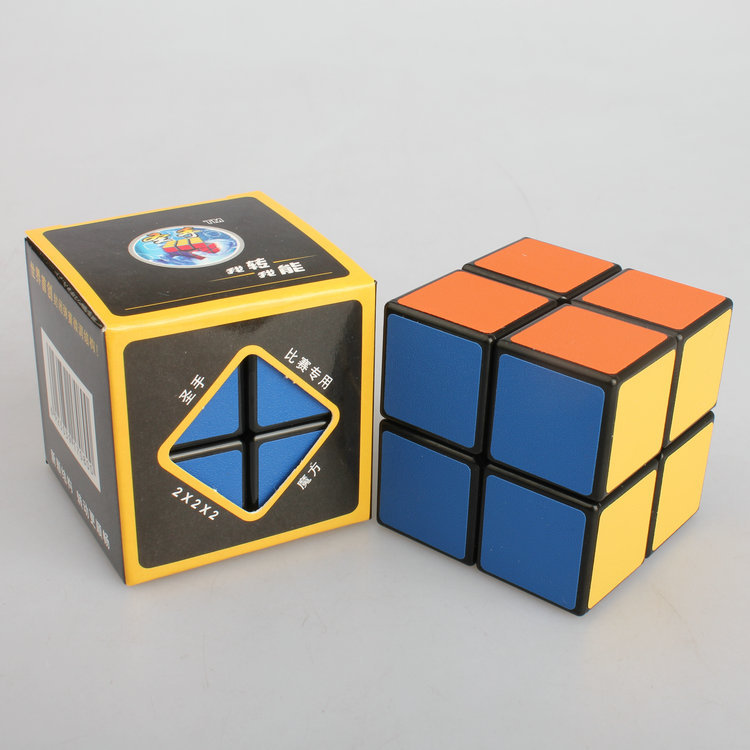 Toy Magic Cube 2x2x2 Shengshou Stickerless Professional Speed Cubes Puzzle(China (Mainland))