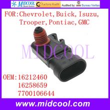 Buy New Intake Air Pressure Sensor use OE NO. 16258659, 16212460, 7700106644 Chevrolet Buick Isuzu Trooper Pontiac GMC ) for $6.25 in AliExpress store