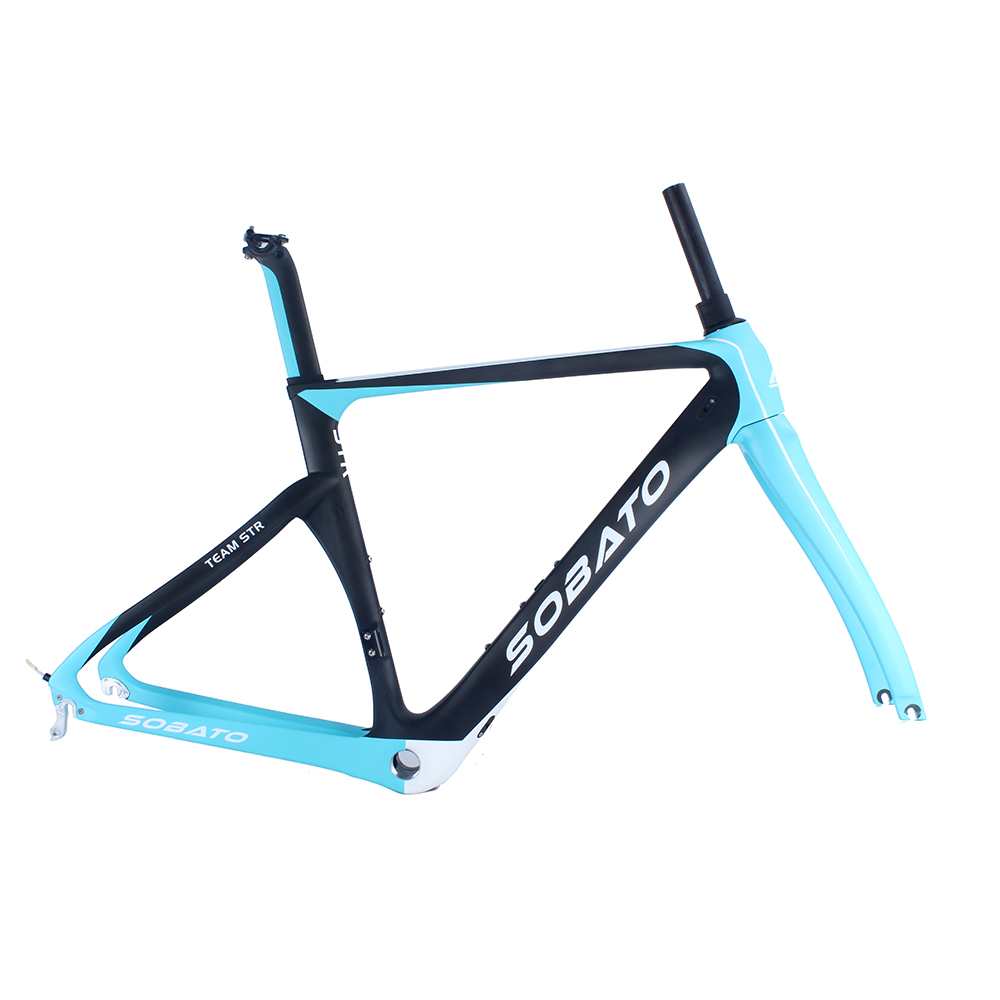 2016 newest and high quality 700C road carbon bike frame di2 compatible carbon aero road frame(China (Mainland))