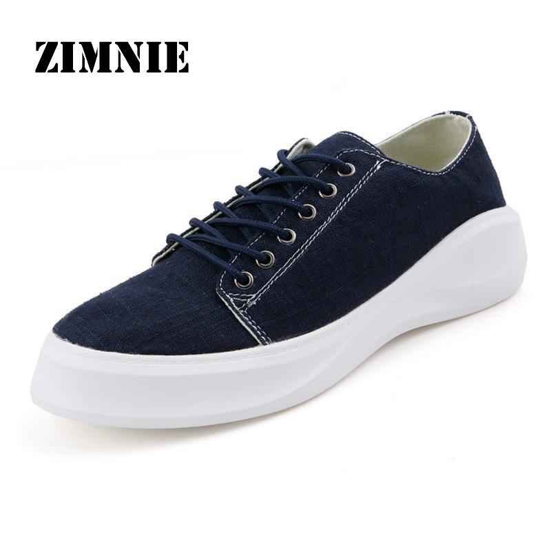 Autumn New Fashion Men Shoes New Hot Sale Spring Mens Sneakers Canvas Shoes Casual Breathable Hemp Fabric Flat Shoes<br><br>Aliexpress