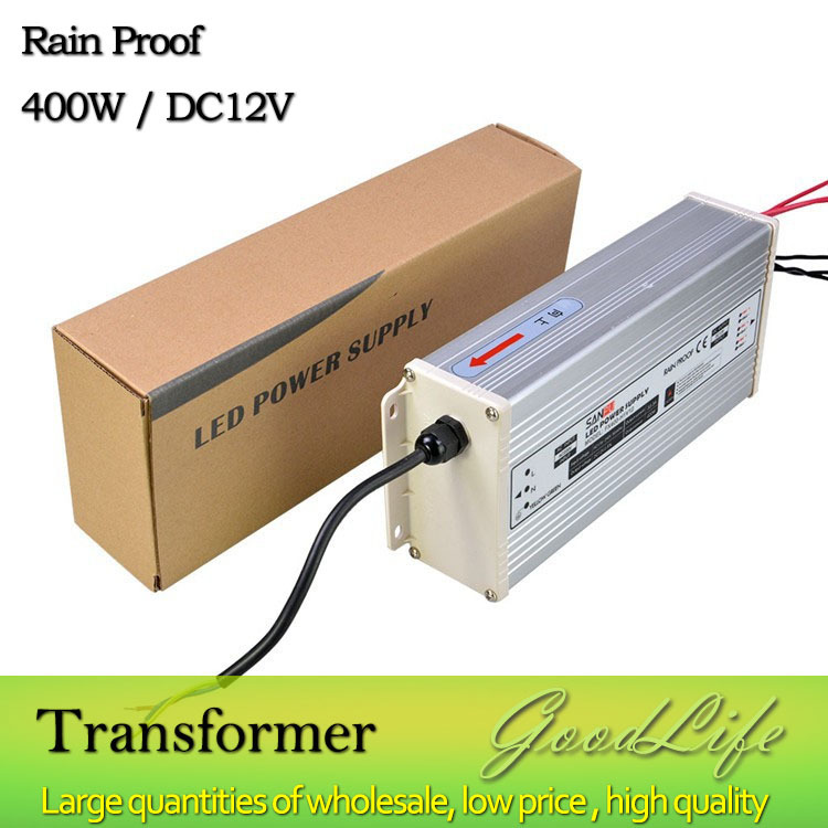 Aliexpress.com : Buy DC 12V 400W Rain Proof LED Power