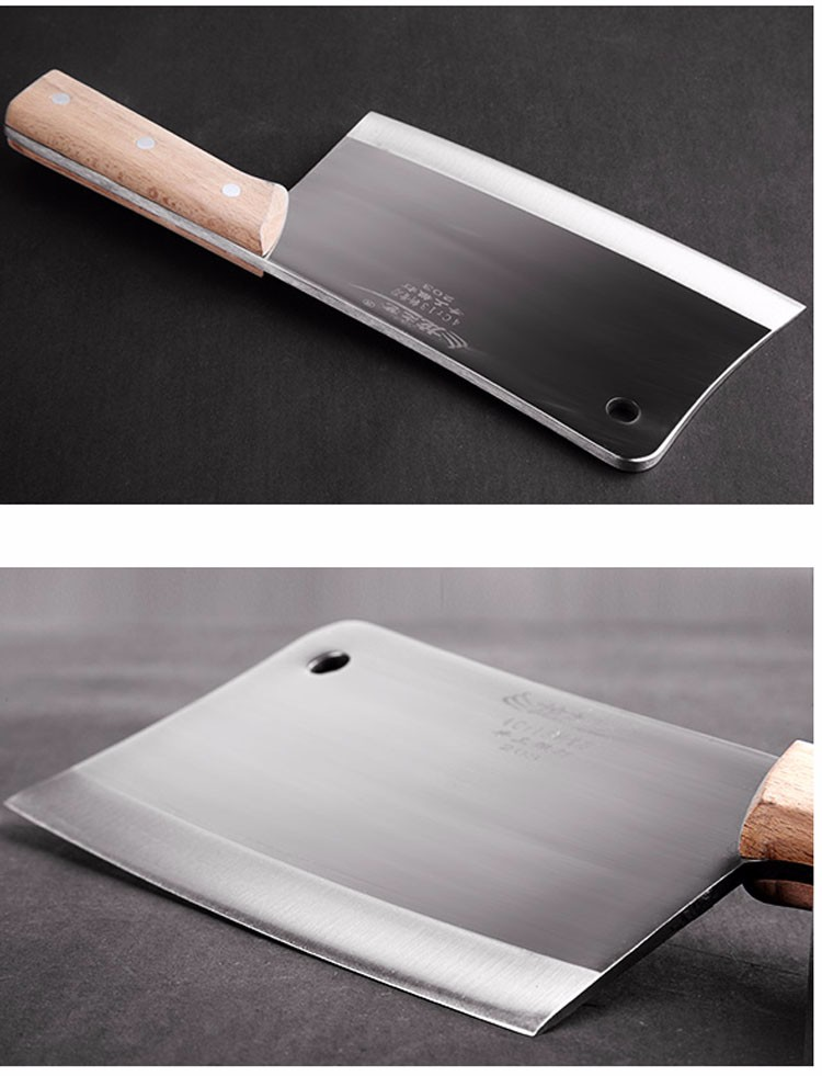 Buy Thickening Forged Kitchen Chef Chop Bone Knife Household Multifunctional Cut Bone Cleaver Cooking Knives Kitchen Tool cheap