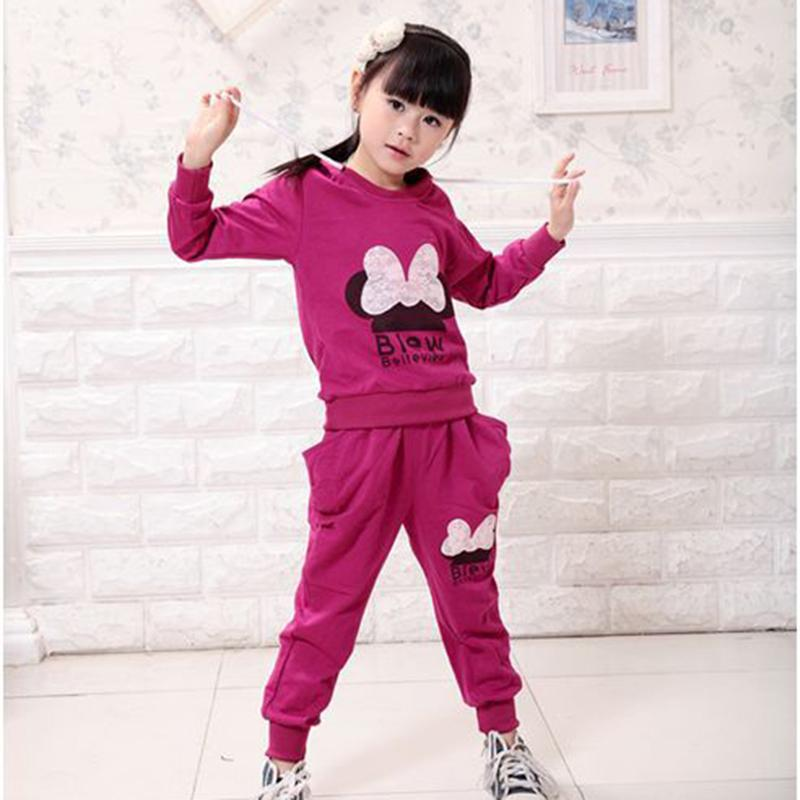 3 Colors Kids Sport Wear Baby Clothing Set Girls Sport Suit Baby Clothes Baby Garment Sport Suit Fashion Butterfly Set(China (Mainland))
