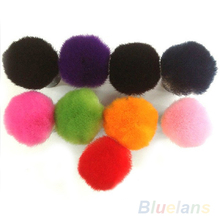 1pc 2014 New Colorful Nail tools Brush For Acrylic UV Gel Nail Art Dust Cleaner 1FOB