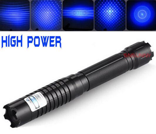 High Power Blue Laser Pointer Pen 450nm 100000mw Military Burning Visible Beam Adjustable lit cigarette burn paper pop balloon<br><br>Aliexpress