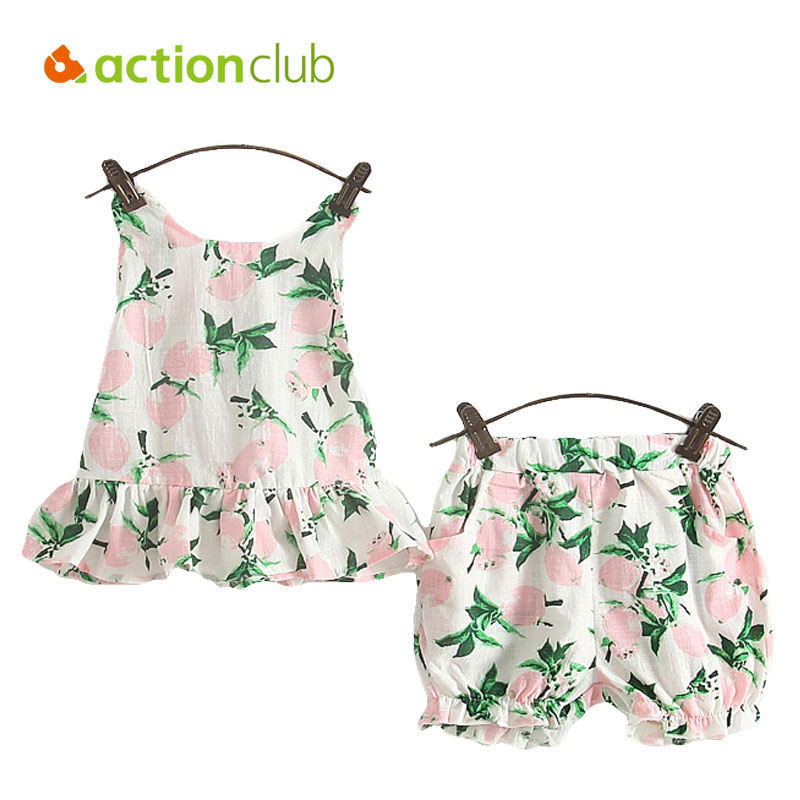 Aliexpress Buy Actionclub Baby Girls Clothes Set T