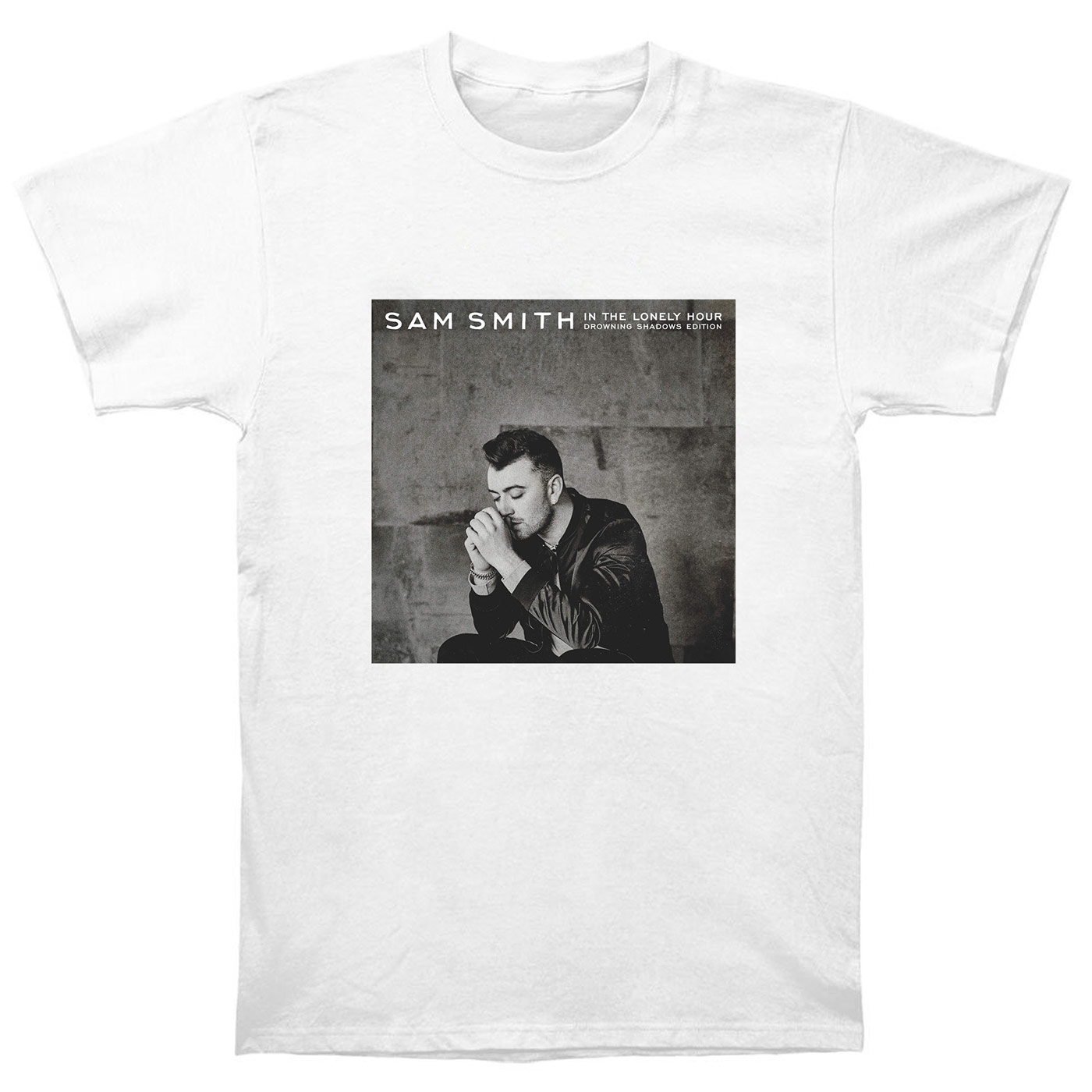 Sam Smith T Shirt Cd In The Lonely Hour Vinyl Poster Drowning Shadows Edition ST2Одежда и ак�е��уары<br><br><br>Aliexpress