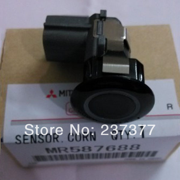Black Parking Sensor For Mitsubishi CUV Grandis OEM MR587688(China (Mainland))