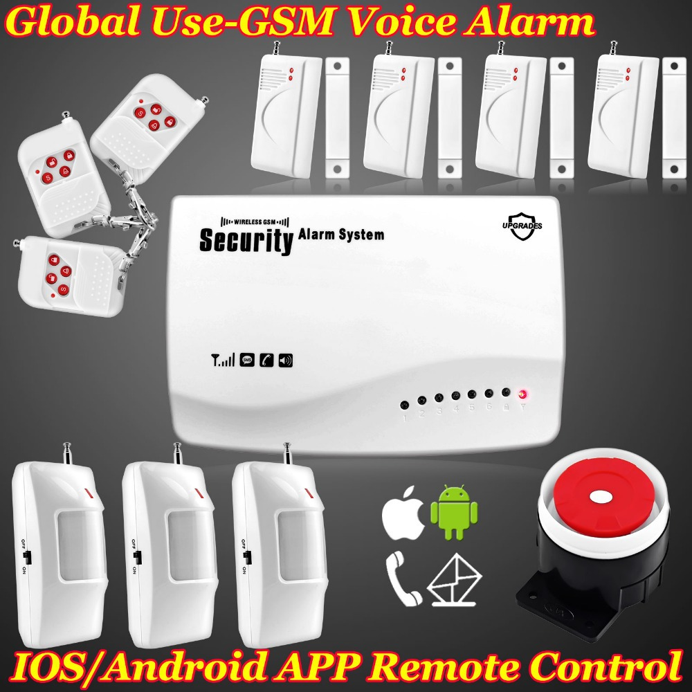 10 pcs/lot DHL Free shipping!Discount New Wireless GSM Home Security Burglar Alarm System Auto Dialing Dialer SMS Call<br><br>Aliexpress