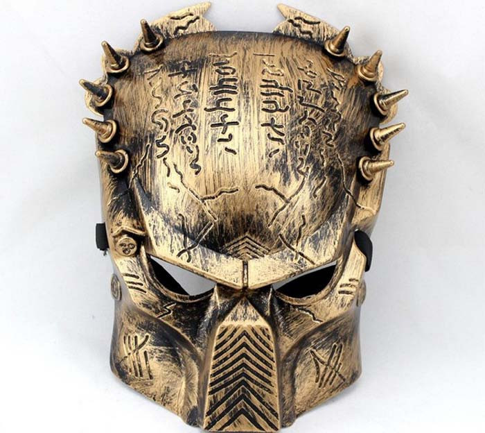 1 2014 Top Fashion Costume Party Masks Toymall Beautiful Predator Mask PVC Cospaly Hallowmas mask