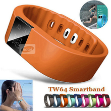 2015 Smartband Smart bracelet Wristband Fitness tracker Bluetooth 4.0 fitbit flex Watch for ios android better than mi band 5139