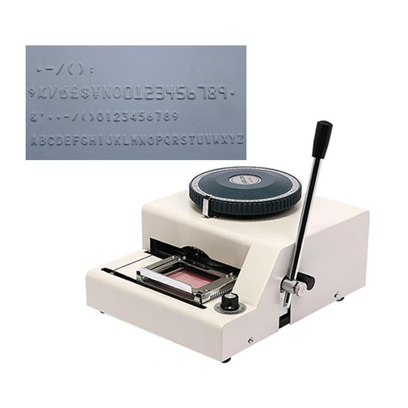 PVC card embossing machine-WSDM-70C<br><br>Aliexpress
