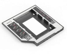 12.7mm Universal 2nd HDD caddy SATA to SATA Notebook ODD DVD-ROM Optibay