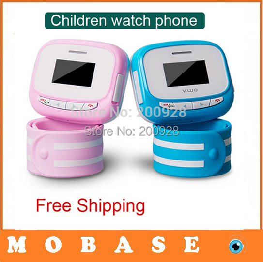 2014 new Wearable Children watch phone Remote monitoring watch GPS locate children phone safe and practical childrens watches(China (Mainland))